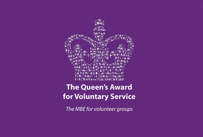 Queen's Award for Voluntary Service.